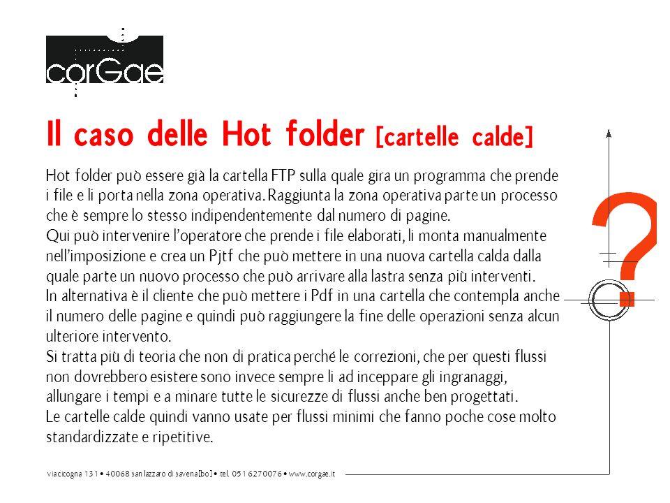 Il caso delle Hot folder [cartelle calde]
